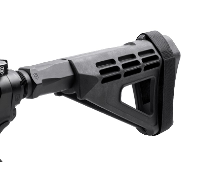 SB Tactical SBM4 Pistol Stabilizing Brace with Phase 4 Hex-2 Pistol Buffer Tube | R1 Tactical