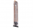 ETS Translucent 31 round (9mm) Magazine fits Glock 17, 18, 19, 19x, 26, 34, 45