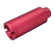 Guntec USA AR-15 Slim Line Cone Flash Can - Anodized Red
