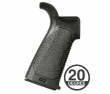 Strike Industries AR Overmolded Enhanced Pistol Grip 20 - Black