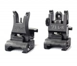 A.R.M.S. #71L Front / Rear Sight Set Flip Up Polymer Sights