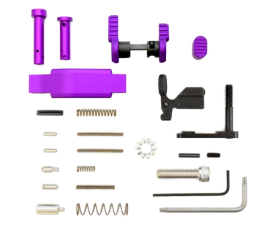 Armaspec Superlight Lower Parts Kit .223/5.56 - Purple