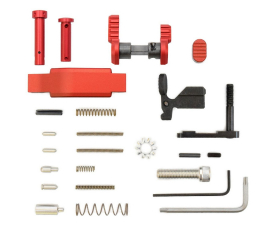 Armaspec Superlight Lower Parts Kit .223/5.56 - Red