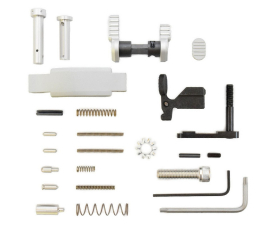 Armaspec Superlight Lower Parts Kit .223/5.56 - Silver
