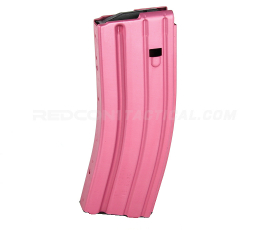 C Products Defense DURAMAG Speed AR-15 .223/5.56/300BLK 30 round Aluminum Magazine Anodized - Pink