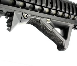 Custom Stippled AFG2 with Noveske K9 Barricade by Redcon1 Tactical