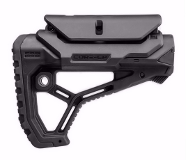 FAB Defense GL-CORE CP AR15/M4 Buttstock with Adjustable Cheek-Rest - Black