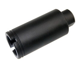 Guntec USA AR-10 Cone Flash Can - Anodized Black
