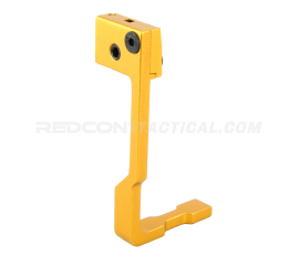 Guntec USA AR-15 Extended Bolt Catch Release - Anodized Gold