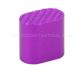 Guntec USA AR-15 Extended Magazine Button - Anodized Purple