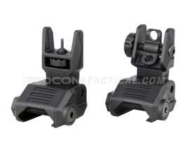 Guntec USA AR-15 PQS Polymer Quick Sights - Black