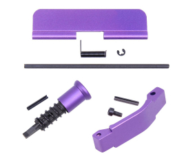 Guntec USA AR-15 Receiver Build Kit - Anodized Purple