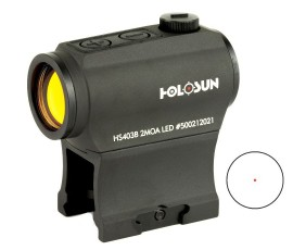 Holosun Micro Red Dot Sight 2 MOA - HS403B