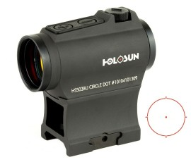 Holosun Micro Red Dot Sight 2 MOA Dot & 65 MOA Circle  - HS503BU