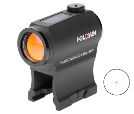 Holosun Paralow Solar Powered Micro Red Dot Sight 2 MOA - HS403C