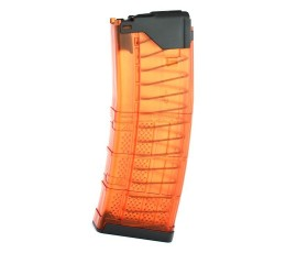 R1 Tactical Modified Lancer L5AWM 30 round 5.56 -  Orange Translucent