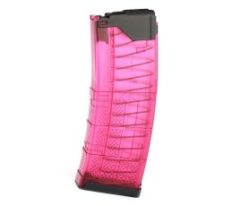 R1 Tactical Modified Lancer L5AWM 30 round 5.56 -  Pink Translucent