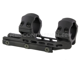 Leapers UTG ACCU-SYNC 30mm High Profile 34mm Offset Scope Mount Anodized - Black