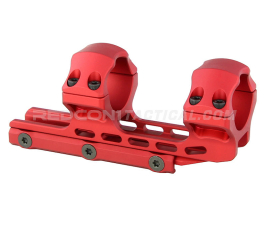 Leapers UTG ACCU-SYNC 30mm High Profile 34mm Offset Scope Mount Anodized - Red