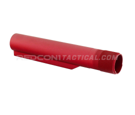 Leapers UTG Pro Mil-Spec 6 Position Buffer Tube - Red
