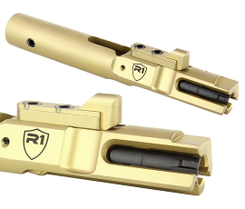 R1 Tactical AR 9mm Bolt Carrier Group - Titanium Nitride