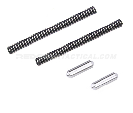 R1 Tactical AR Takedown and Pivot Spring and Detent Set - Stainless Steel