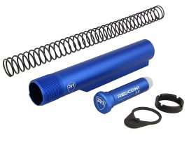 R1 Tactical AR-15 Shield Buffer Tube Kit Mil-Spec - Blue