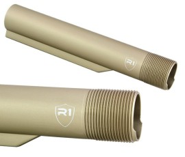 R1 Tactical Shield Buffer Tube Mil-Spec - FDE Anodized