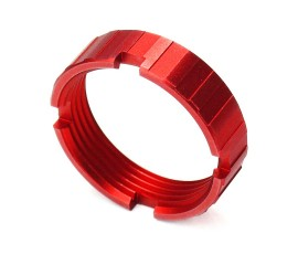 R1 Tactical Lightweight Aluminum Castle Nut - Red