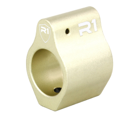 R1 Tactical Aluminum Low Profile Gas Block .750 - Gold