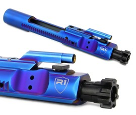 R1 Tactical PVD M16 Bolt Carrier Group - Blue