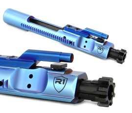 R1 Tactical PVD M16 Bolt Carrier Group - Frost Blue