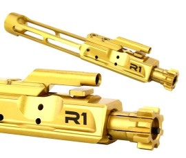 R1 Tactical Lightweight AR-15 Bolt Carrier Group - Titanium Nitride