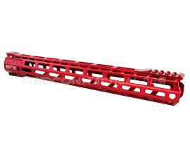 "RISE Armament RA-905 15"" AR-15 M-LOK Handguard - Red"