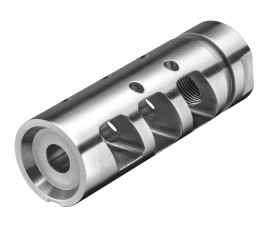Rise Armament RA-701 Compensator .223/5.56 - Stainless Steel