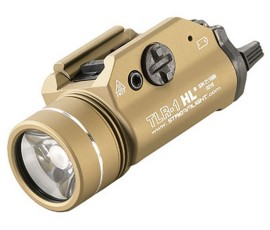 Streamlight TLR1-HL Rail-Mounted Tactical Light - FDE