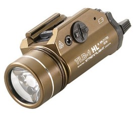 Streamlight TLR1-HL Rail-Mounted Tactical Light - FDE Brown