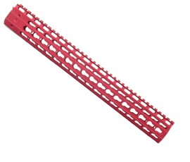 "Strike Industries 15"" Mega Fins G2 KeyMod Handguard Red"