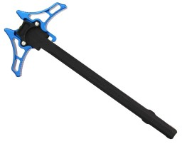Timber Creek AR-15 Enforcer Ambidextrous Charging Handle - Blue