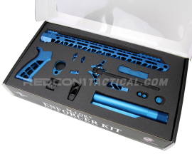 Timber Creek AR-15 Enforcer Complete Build Kit - Blue