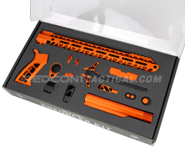 Timber Creek AR-15 Enforcer Complete Build Kit - Orange