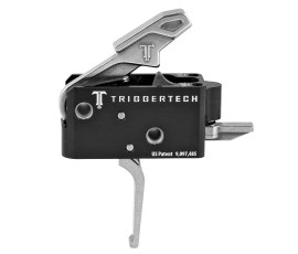 TriggerTech Combat AR Primary Trigger 5.5lb Stainless - Straight Flat