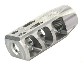 Venom Defense AR308, AR-10 Stainless Steel Compensator - As Machined