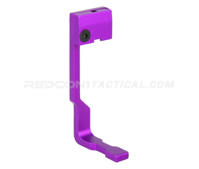 Guntec USA AR-15 Extended Bolt Catch Release - Anodized Purple