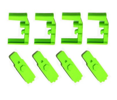 Hexmag HEXID Color Identification System Zombie Green 4 pack