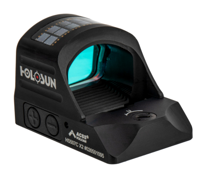 Holosun Pistol Red Dot Sight - ACSS Vulcan Reticle - HS507C-X2-ACSS
