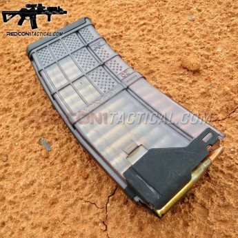 Lancer L5AWM 30-round Magazine 5.56 - Translucent Smoke