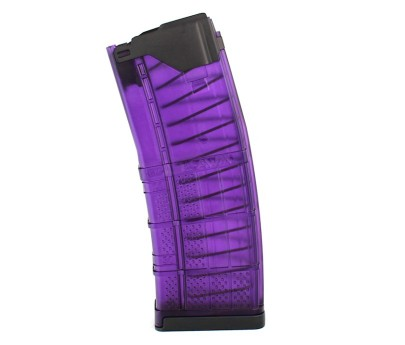 R1 Tactical Modified Lancer L5AWM 30 round 5.56 - Purple Translucent