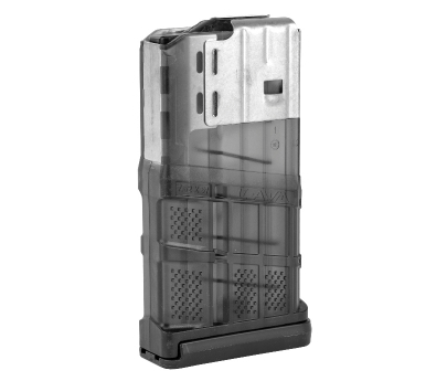 Lancer L7AWM 20-round Magazine 7.62 - Translucent Smoke