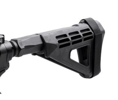 Phase 5 Hex-2 Pistol Buffer Tube - Black